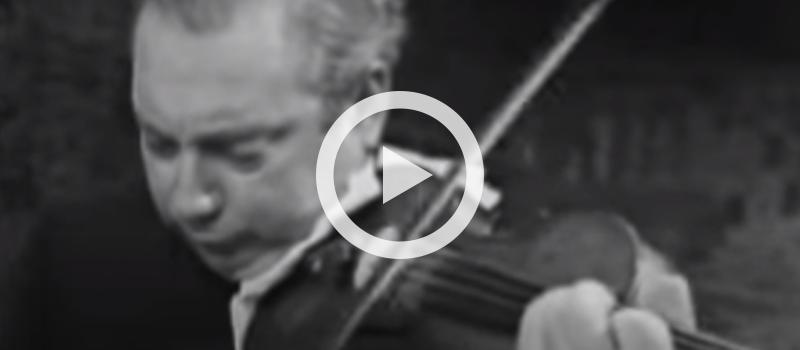 Violinist Isaac Stern