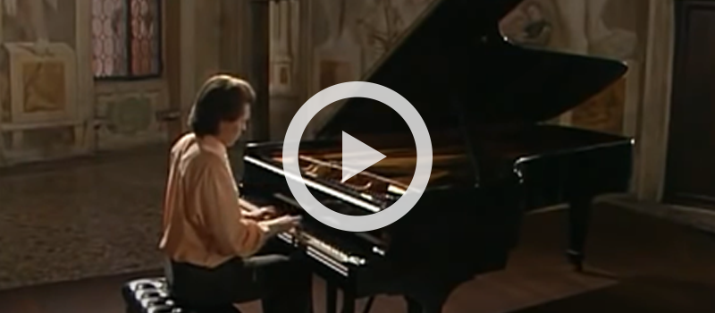 Ivo Pogorelich performs J.S. Bach's English Suite No. 2 in A minor