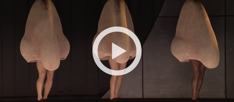 Shostakovich's The Nose performed by The Royal Opera, choreographed by Otto Pichler