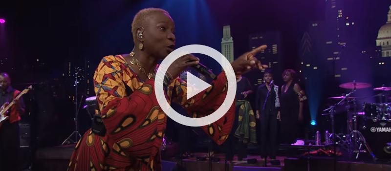 "Angelique Kidjo performs ""Pata Pata"" at Austin City Limits"