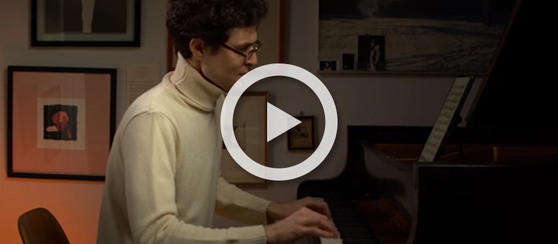 Pianist Timo Andres performs Georgs Pelēcis' New Year's Music